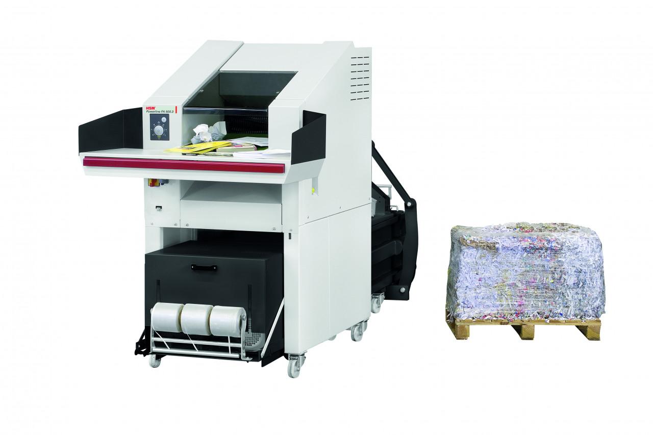 Combinaison destructeur et presse HSM SP5088