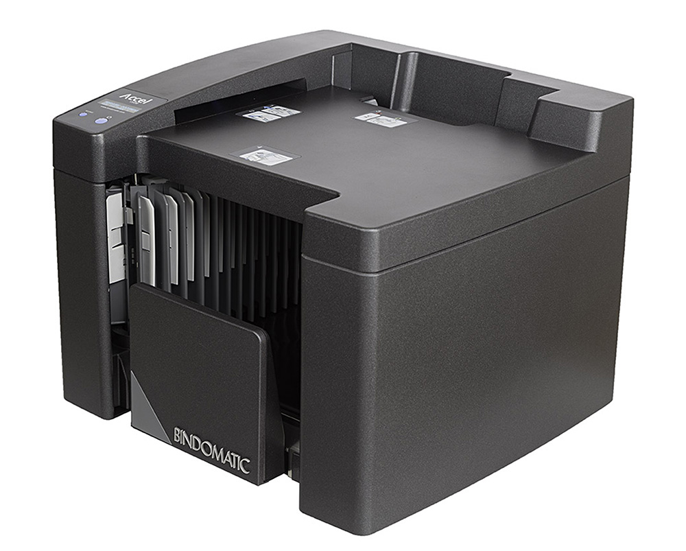 Thermorelieur professionnel Bindomatic Accel Cube.