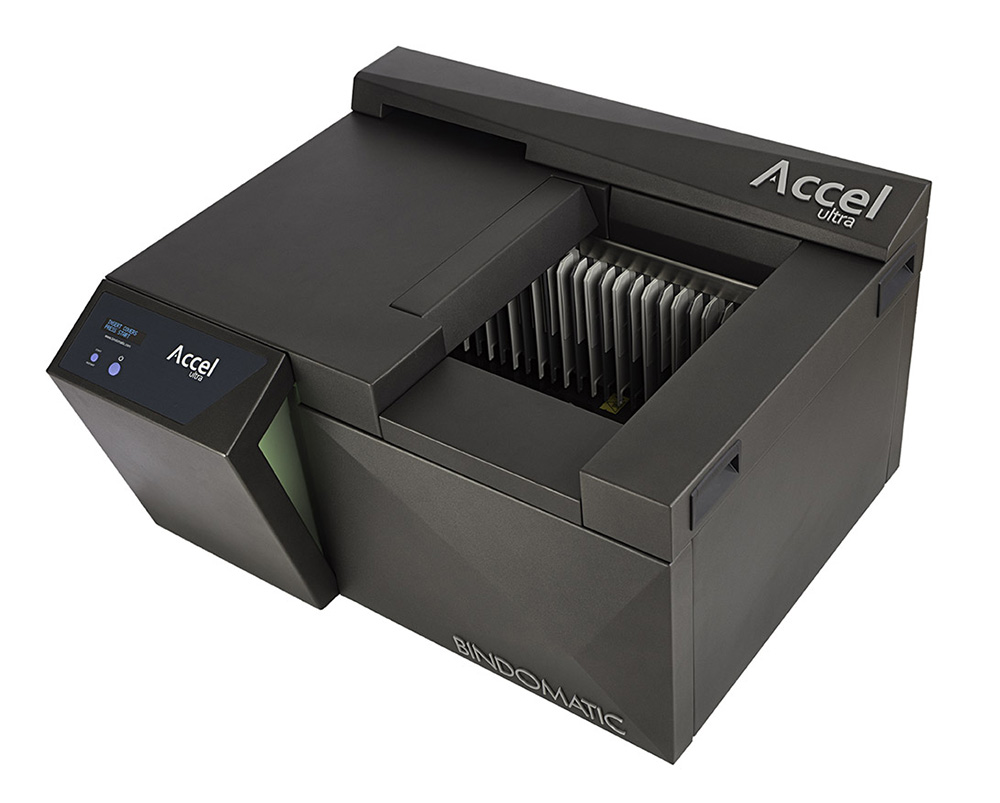 Thermorelieur professionnel Bindomatic Accel Ultra.