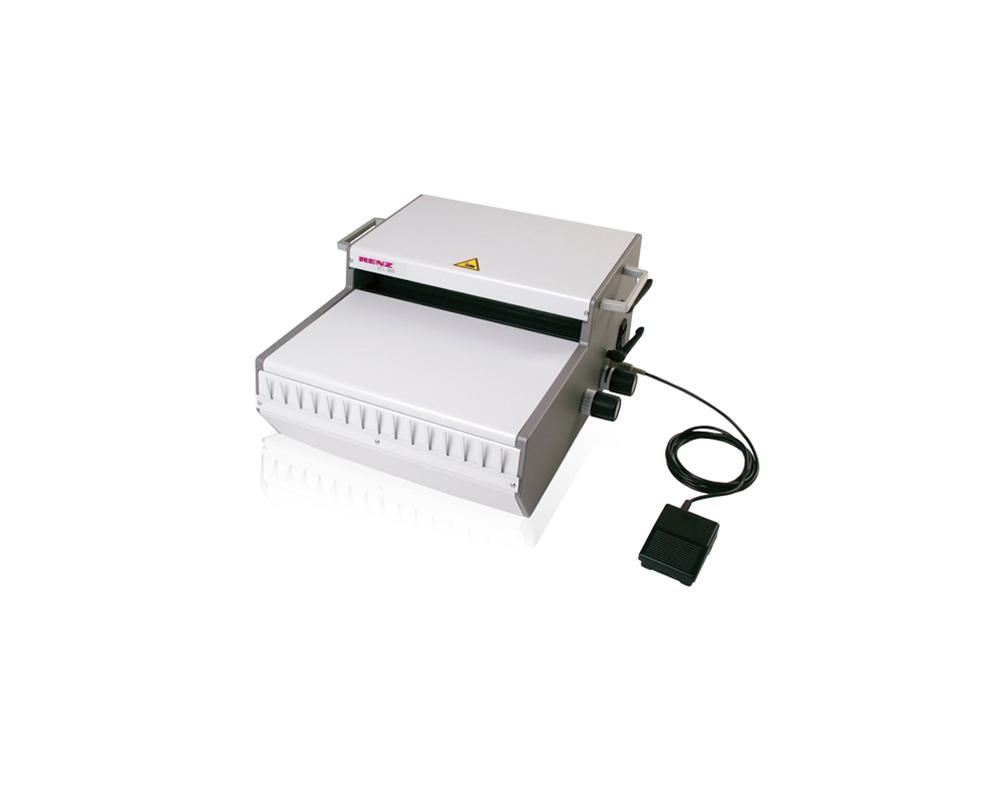 Relieur électrique RENZ ECL 360 pour reliures métales.