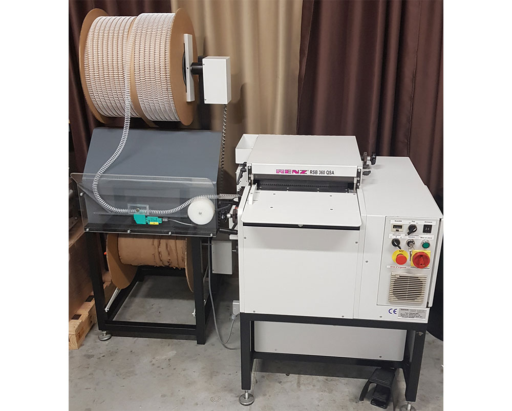Relieur semi-automatique RENZ RSB 360 QSA